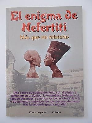 El Enigma Nefertiti: José Antonio Solís