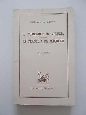 El mercader de Venecia; La tragedia de