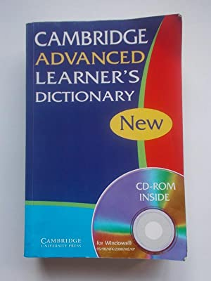 Cambridge Advanced Learner's Dictionary (No incluye el CD)