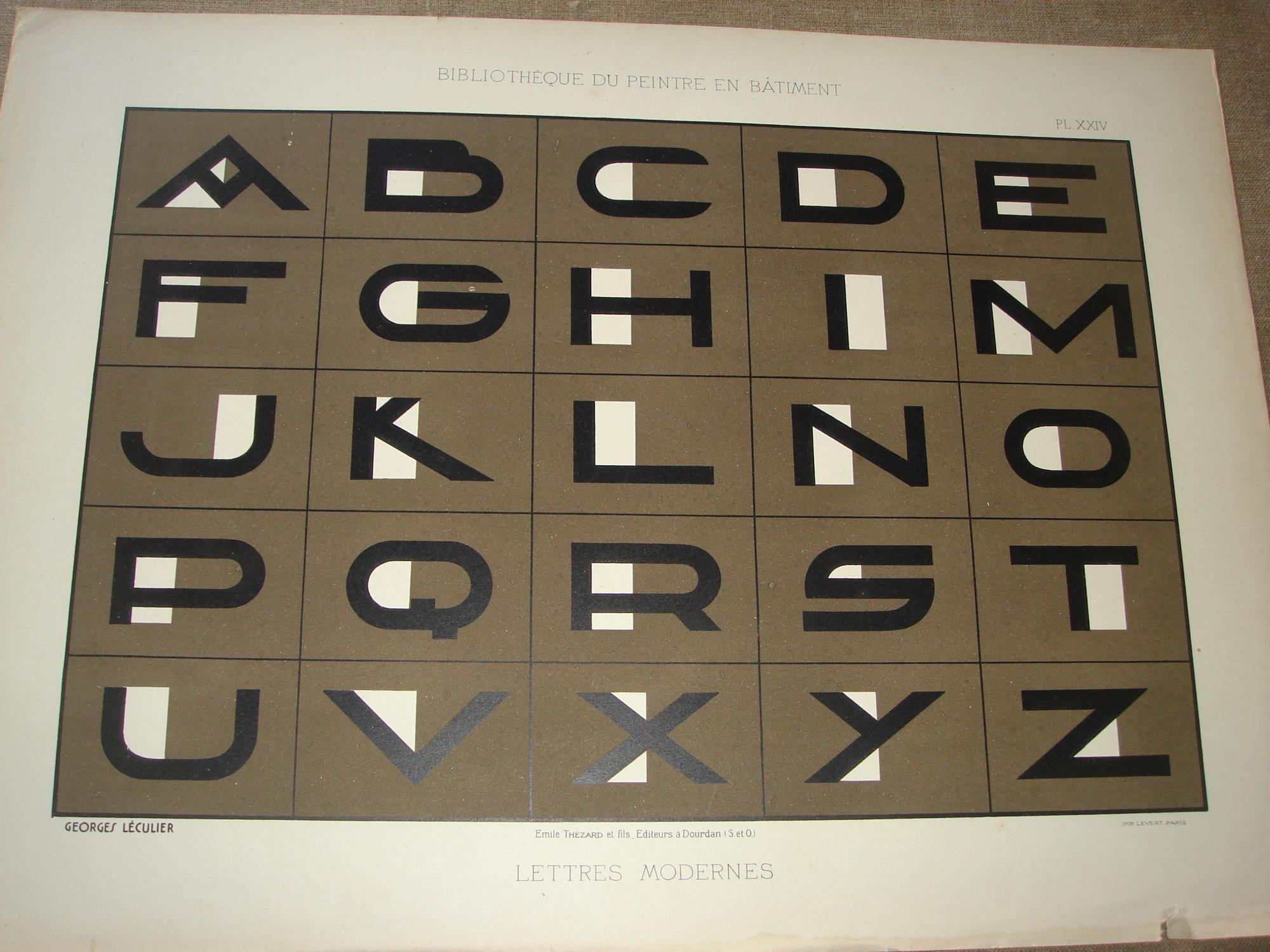 modeles de lettres modernes by george leculier emile thezard et fils hardcover 1st edition