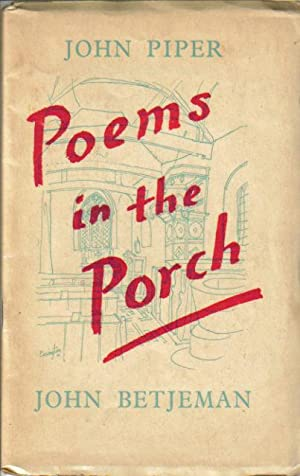 poems in the porch by john piper john betjeman abebooks. Black Bedroom Furniture Sets. Home Design Ideas