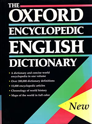 The Oxford Encyclopedic English Dictionary: Judy Pearsall and