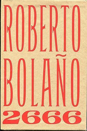 2666 (3 Volumes): Roberto Bolano