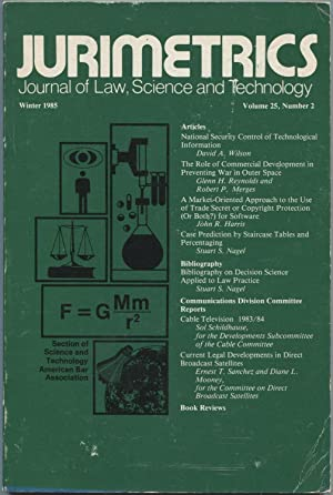 Jurimetrics: Journal of Law, Science and Technology.: Edward Gerjuoy, editor