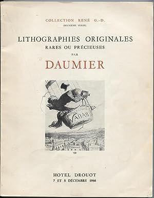 Collection Rene G.-D. (Deuxieme Vente). Important Ensemble