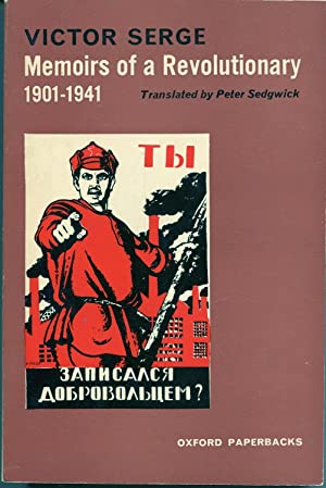 Memoirs of a Revolutionary, 1901-1941: Victor Serge