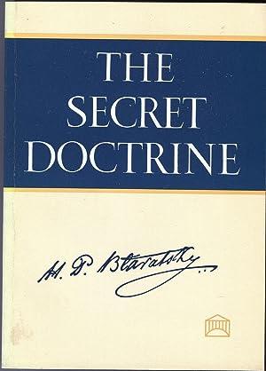 The Secret Doctrine. Two Volumes. Volume I.: H.P. Blavatsky