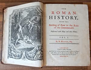 THE ROMAN HISTORY, From the Building of: HOOKE, N