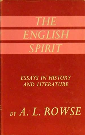 essays on history of english literature