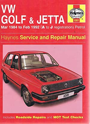 VW Golf And Jetta Service And Repair: Coomber I. M;