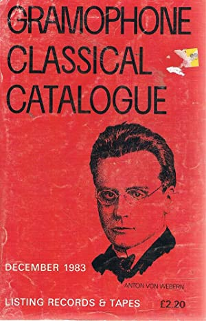 Gramophone Classical Catalogue December 1983: Walker Malcolm