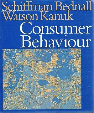 Consumer Behaviour: Schiffman; Bednall' Watson; Kanuk
