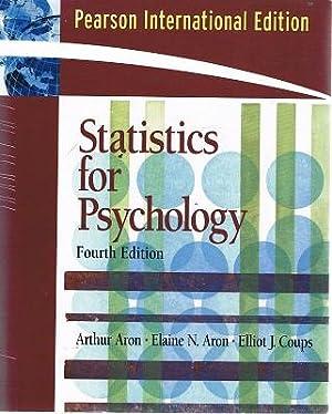 Statistics For Psychology: Aron Arthur; Aron