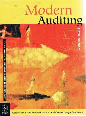 Modern Auditing: Guadarshan S. Gill;
