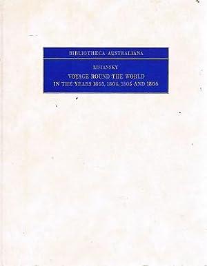 Voyage Round The World In The Years: Lisiansky Urey