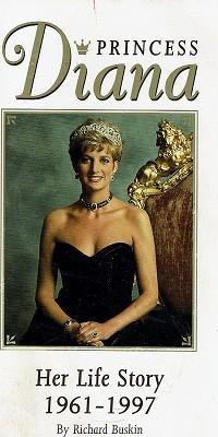Princess Diana: Her Life Story 1961-1997: Buskin Richard