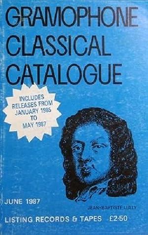 Gramophone Classical Catalogue: Walker Malcolm