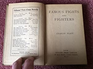 FAMOUS FIGHTS AND FIGHTERS: Platt, Charles