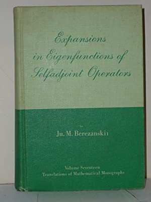Expansions in Eigenfunctions of Selfadjoint Operators. Translations of Mathematical Monographs, V...