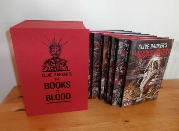 The Books of Blood Barker, Clive