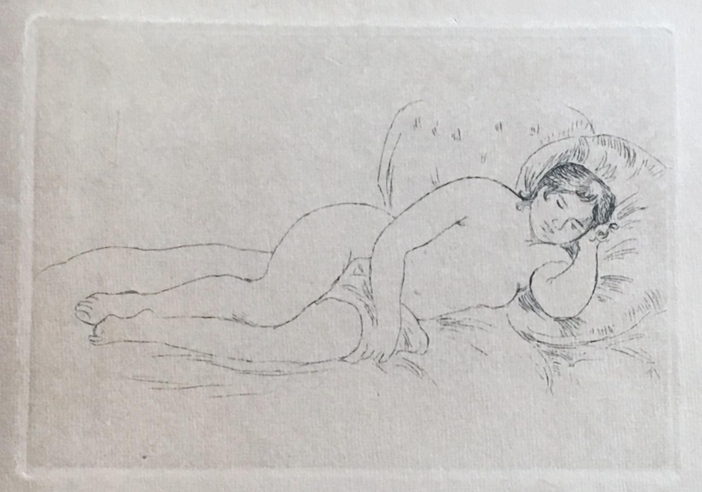 Renoir peintre du nu. With an original etching. Pierre-Auguste Renoir Very Good Softcover