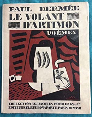 Le Volant d'Artimon. With 3 woodcuts by: Poems by Paul