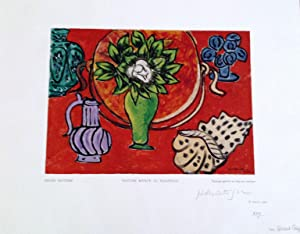 Nature Morte au Magnolia - Wood engraving: Henri Matisse
