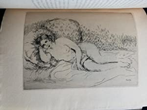 Les Peintres Impressionnistes, 1906, with etchings by Pissarro, Renoir, Cezanne Guillaumin: ...