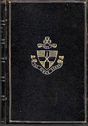 POETICAL WORKS OF LONGFELLOW (The Kings School: Longfellow, Henry Wadsworth.
