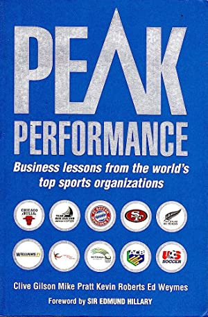 PEAK PERFORMANCE. Business lessons from the world's top sports organizations.