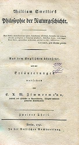 Philosophie der Naturgeschichte. Aus dem Englischen übersetzt, mit Zusätzen des Herrn ...