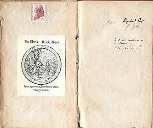 Critik der reinen Vernunft. Riga: Johann Friedrich Hartknoch, 1781.: KANT, Immanuel