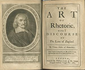 The Art of Rhetoric, with a Discourse of The Laws of England. London: printed for William Crooke, ...