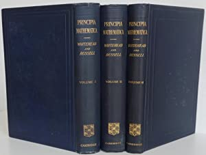 Principia Mathematica. Second Edition. Cambridge, at the University Press, 1925-7.