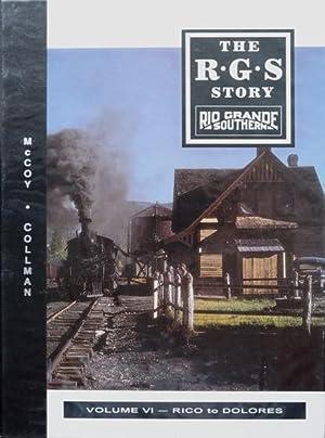 The R.G.S. Story : Rio Grande Southern: COLLMAN RUSS &