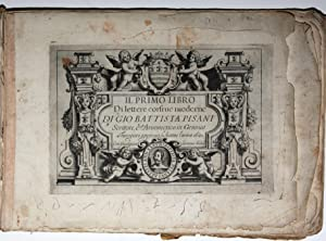 Il Primo Libro di Lettere corsive moderne: CALLIGRAPHY] / PISANI,