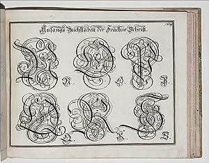 Geöfnete Schreib-Schule, oder, Deutsche, lateinische, und franzosische: SCHIRMER, Johann Michael