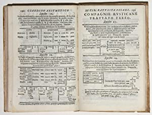Giardino aritmetico.: PISANI, Giovanni Battista
