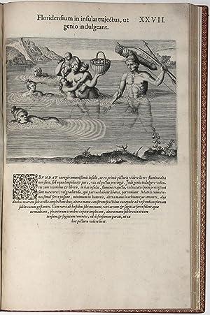 Brevis narratio eorum quae in Florida Americae: DE BRY, Theodor