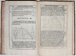 In duos Archimedis Aequeponderantium Libros Paraphrasis Scholiis illustrata: MONTE, Guidobaldo del