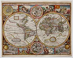 A New And Accurat Map Of The World.: SPEED, J.