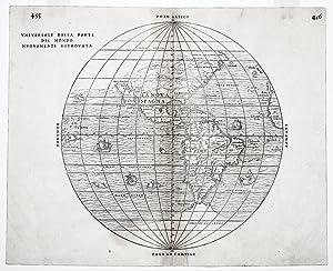 Universale Della Parte Del Mondo . . .: RAMUSIO, G. B./ GASTALDI, G.