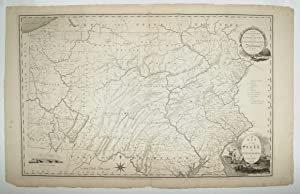 A Map Of The State Of Pennsylvania: HOWELL, R./ VALLANCE,