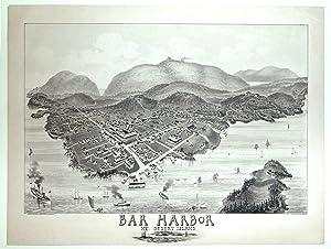 Bar Harbor Mt. Desert Island Maine.: MORRIS, G. W. / GEORGE H. WALKER & CO.