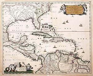 Insulae Americanae in Oceano Septentionali.: VISSCHER, N.