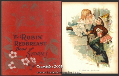 The Robin Redbreast Book of Stories McLoughlin Brothers [Good] [Hardcover] (bi_21049060840) photo