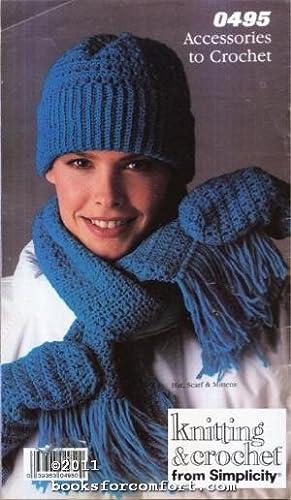 Accessories to Crochet 0495, Knitting & Crochet: Simplicity