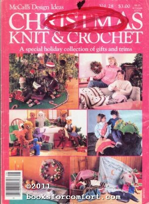 McCalls Design Ideas Vol 28 Christmas Knit: Editors of McCall's