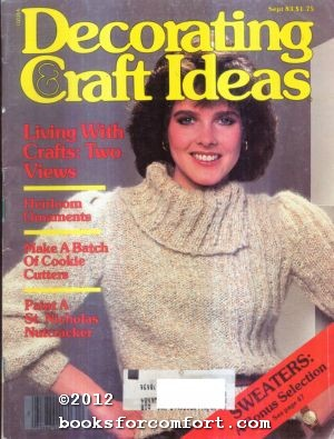 Decorating & Craft Ideas Vol 14 No: Katherine Pearson, Editor