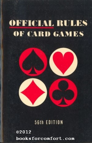 Official Rules of Card Games 64th Edition: US Playing Card